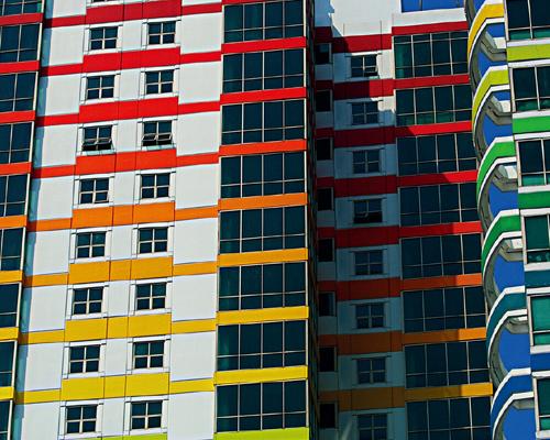 雅加达,公寓大楼