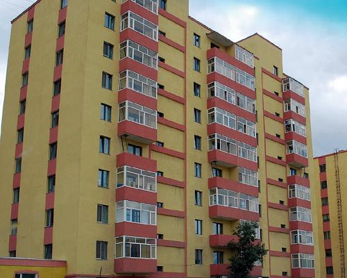 乌兰巴托高层住宅楼