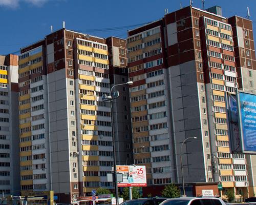 莫斯科高层住宅楼