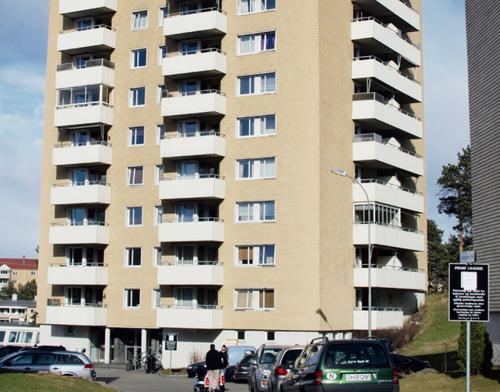 卑尔根高层住宅楼